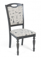 Стул М-City LT C17443 DARK GREY / FABRIC FB62 PARIS