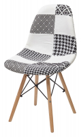 Стул M-City MODERN-623C PATCHWORK-BW
