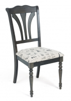 Стул М-City LT C17455 DARK GREY / FABRIC FB62 PARIS