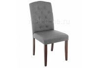 Стул Woodville Menson dark walnut / fabric grey