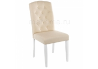 Стул Woodville Menson white / fabric сream