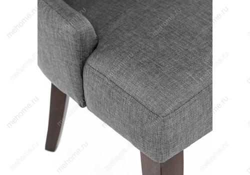 Фото Стул Woodville Elegance dark walnut / fabric grey