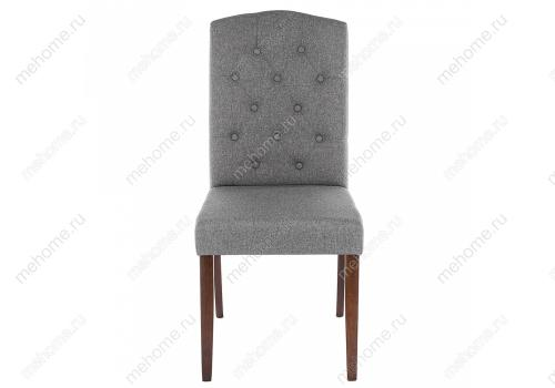 Фото Стул Woodville Menson dark walnut / fabric grey