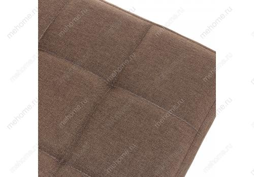 Фото Стул Woodville Madina dark walnut / fabric brown