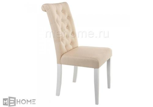 Фото Стул Woodville Amelia white / fabric cream