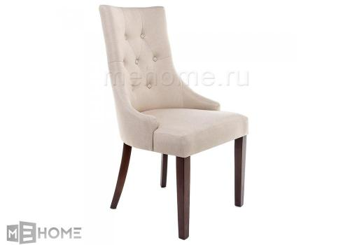 Фото Стул Woodville Elegance dark walnut / fabric cream
