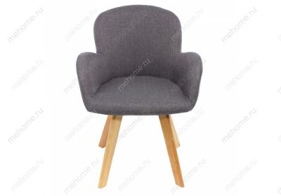 Фото Стул Woodville Asia wooden legs / grey fabric