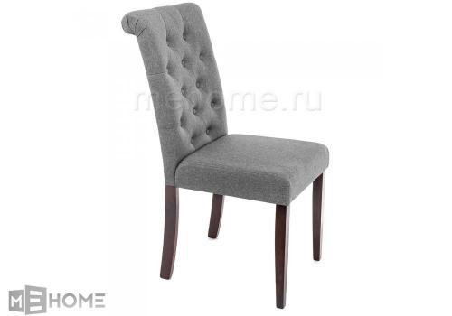 Фото Стул Woodville Amelia dark walnut / fabric grey