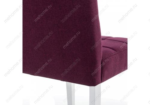 Фото Стул Woodville Madina white / fabric purple