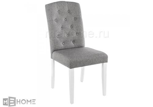 Фото Стул Woodville Menson white / fabric pebble