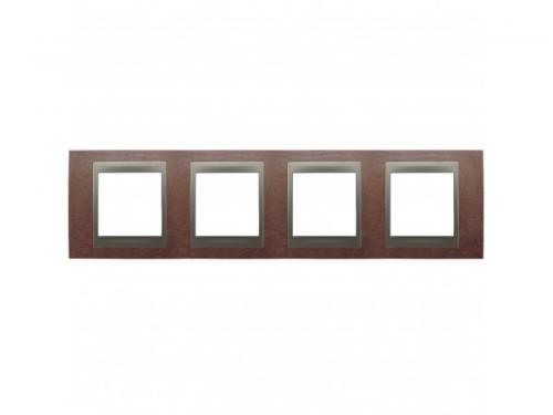 Фото Рамка 4 поста Schneider Electric Unica Top MGU66.008.2M4